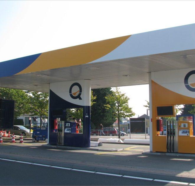 tankstationomkleuring